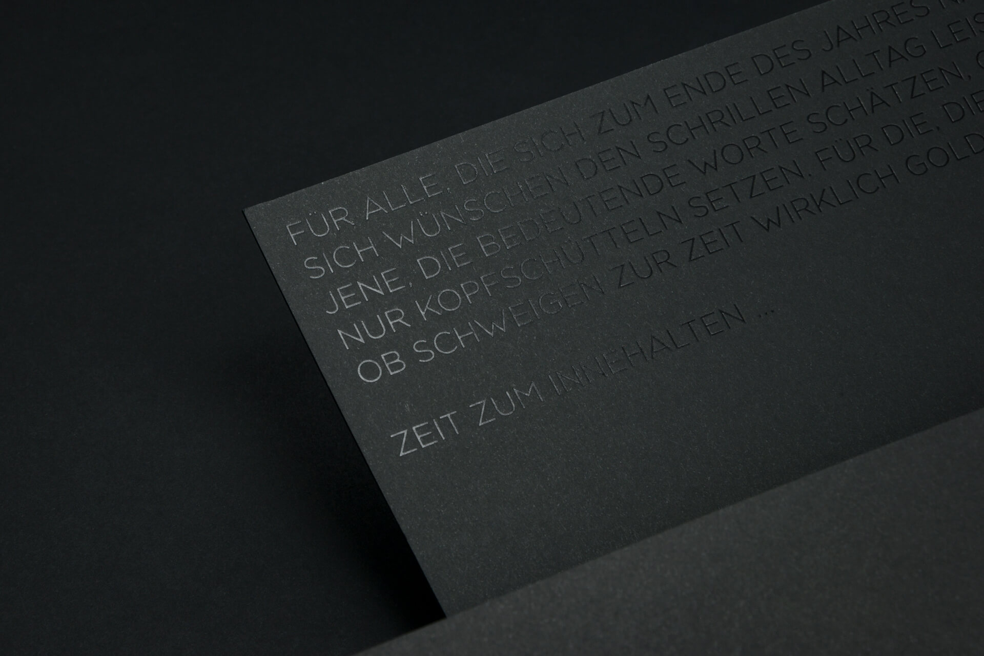 Black Hot Foil - Backside